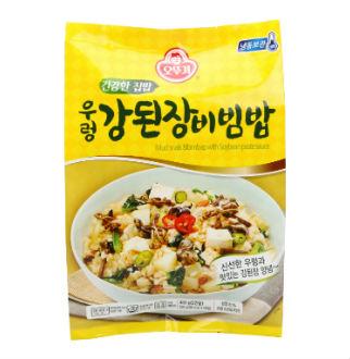 [슈퍼마트]오뚜기건강한집밥 우렁강된장비빔밥450g