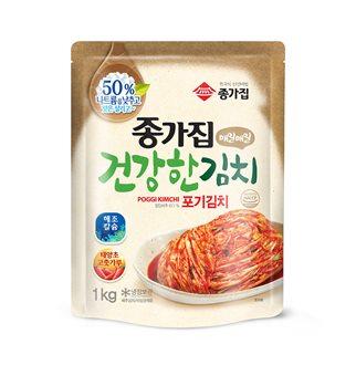 [슈퍼마트]종가집 건강한 포기김치 1kg