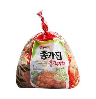 [슈퍼마트]종가집 투명총각김치 1kg