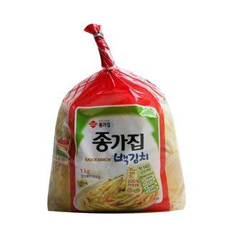 [슈퍼마트]종가집 투명 백김치 1kg