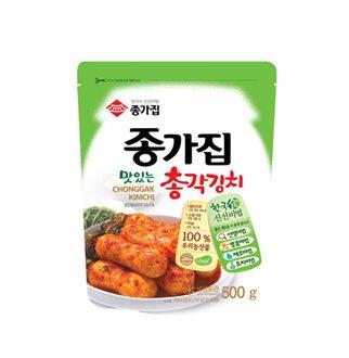 [슈퍼마트]종가집 총각김치 500g