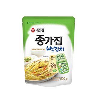[슈퍼마트]종가집 맛있는 백김치 500g