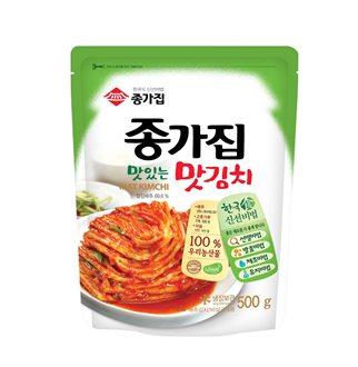 [슈퍼마트]종가집 맛있는 맛김치 500g