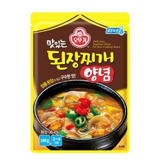 [슈퍼마트]오뚜기 맛있는 된장찌개양념 140g