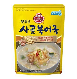[슈퍼마트]오뚜기 맛있는 사골북어국 500g