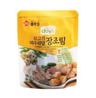 [슈퍼마트]종가집 쇠고기 장조림 180g