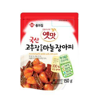 [슈퍼마트]종가집 고추장 마늘장아찌