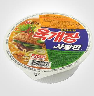 [슈퍼마트]농심 육개장 사발면 86g*1입