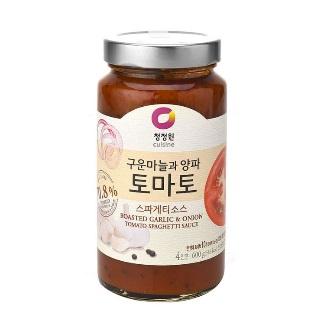 [슈퍼마트]청정원 토마토 소스 600g