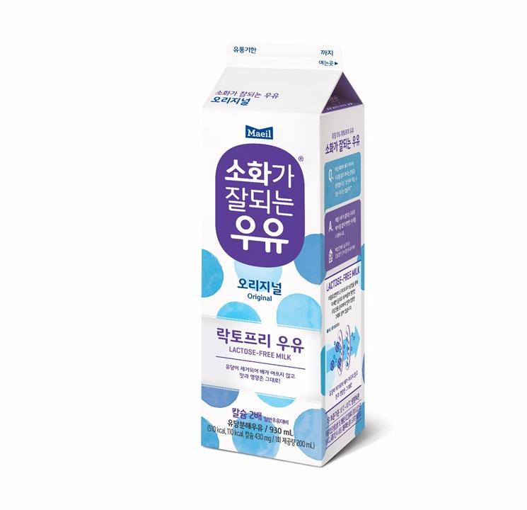 [슈퍼마트] 매일 소화가잘되는우유 930ml