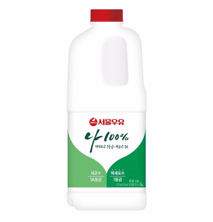 [슈퍼마트][냉장]서울우유 1급A우유 1800ml