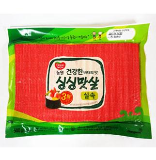 [슈퍼마트]동원 싱싱맛살실속 500g