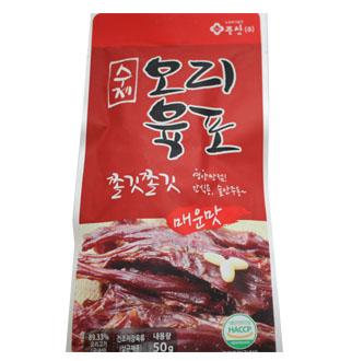 [슈퍼마트]수제오리육포50g(매운맛)