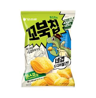 [슈퍼마트]오리온 꼬북칩 콘스프 80g