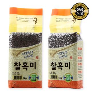 [슈퍼마트]찰흑미1kg(진공)