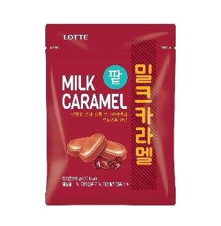 [기한임박] 롯데 팥 밀크카라멜 115g*2유통기한 : 2018-10-19