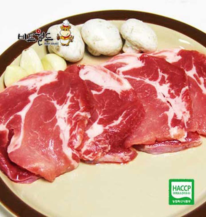 돈목살(돼지목살)500g