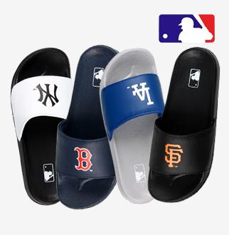 [MLB] 남성 베이직 슬리퍼 4종