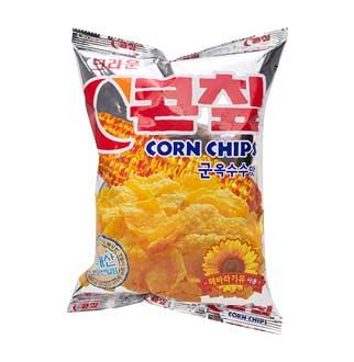 [대용량]크라운 콘칩옥수수맛 70g 16입