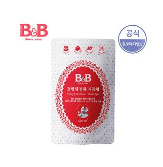 [슈퍼마트] 비앤비 젖병세정제 거품 400ml 리필