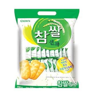 [대용량]크라운 참쌀선과 253g 10입