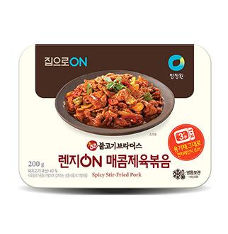 [슈퍼마트]청정원 매콤제육볶음 200g