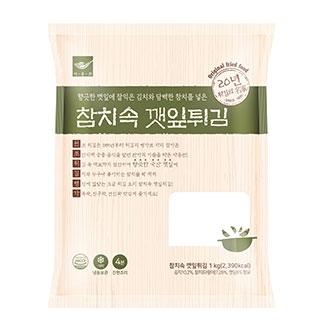 [슈퍼마트]사옹원 참치속 깻잎튀김 1kg