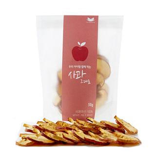 [반값] 청담라이프 사과 그대로 50g