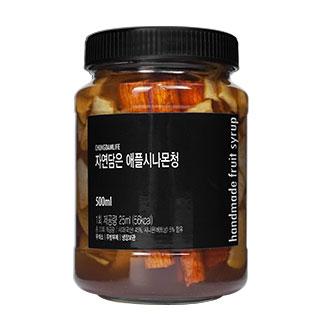 [슈퍼마트]청담라이프 애플시나몬청 500ml