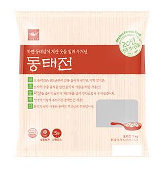 [슈퍼마트]사옹원 동태전 1kg