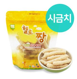 [슈퍼마트]짱죽 유기농 과자 21g 시금치