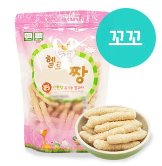 [슈퍼마트]짱죽 유기농 쌀과자 80g 꼬꼬