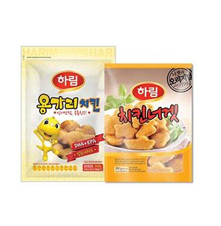[슈퍼마트]하림 용가리치킨+치킨너겟