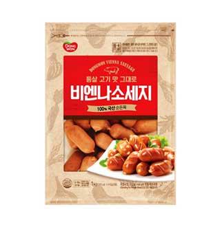 [슈퍼마트]동원 비엔나 소시지 1kg