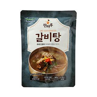 [슈퍼마트]풀무원 찬마루 갈비탕 500g