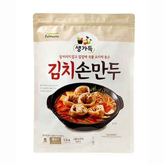 [슈퍼마트]풀무원 김치손만두 1.5kg