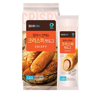 [슈퍼마트]청정원 크리스피 핫도그