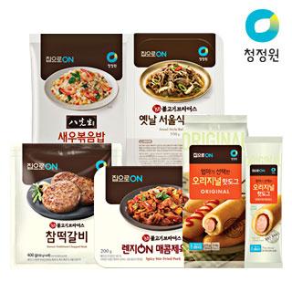 [슈퍼마트]청정원 집으로ON 모음전