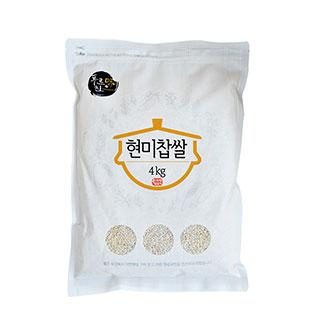 [슈퍼마트] 푸르진미 현미찹쌀 4kg
