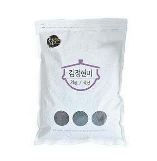 [슈퍼마트] 푸르진미 검정현미 2kg