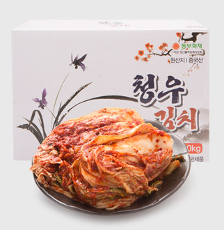[대용량] 청우수채김치 10kg * 1박스