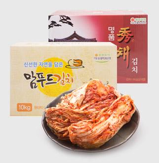 [대용량]숙성 포기김치 10kg * 1박스