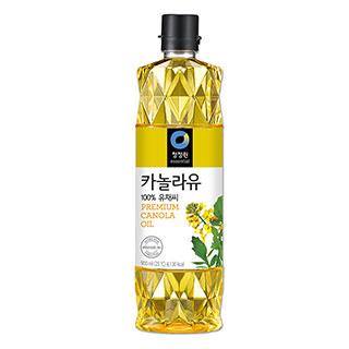 [슈퍼마트] 청정원 카놀라유 900ml