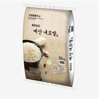 [대용량] 예산 새누리 내포쌀 20kg