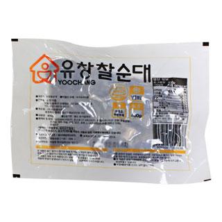 [대용량]유창 슬라이스 찰순대 400g