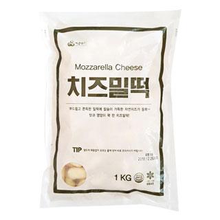 [대용량]치즈밀떡 1kg×16입
