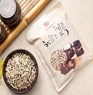 [슈퍼마트]찰진 혼합6곡 1kg (국산)