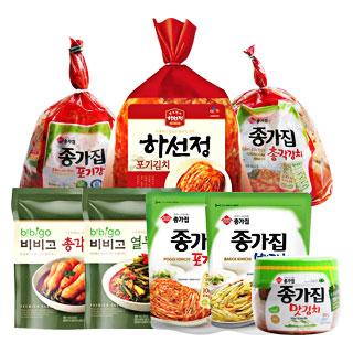 [슈퍼마트] 종가집&CJ 김치 모음전