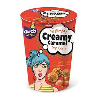 [슈퍼마트]커널스팝콘크리미카라멜 컵