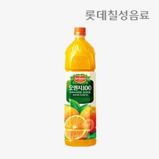 [슈퍼마트]델몬트 오렌지100% 1.5L